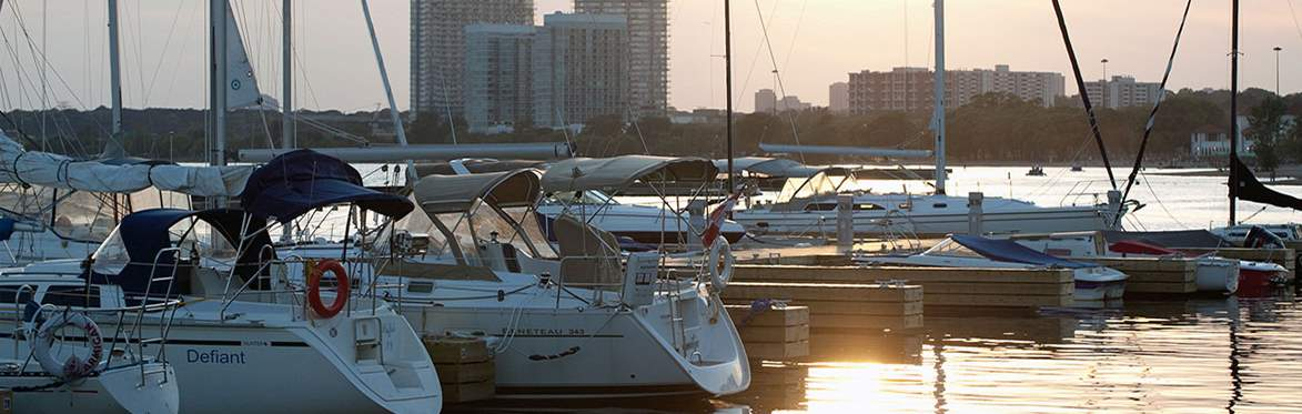 Yachting in Toronto